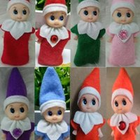 Wholesale elf babies toy for sale - Group buy Quality Christmas Baby Great Elves Dolls Mini Elf Xmas Decoration Doll Kids Toys Childrens Gifts