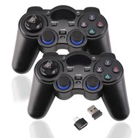Wholesale android stick joystick resale online - Cgjxs2pcs g Game Controller Wireless Gamepad Joystick For Ps3 Android Tv Box Analog Sticks With Otg Adapter Usb Receiver D25 T191227