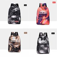 Wholesale korean pack for women resale online - JIAOO Korean Ladies Knapsack Casual Travel Fashion Fortnite Starry Sky Fortress Night Backpack Women Leisure Back Pack Bags For School Te