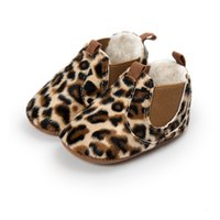 Wholesale baby leopard winter boots for sale - Group buy Classic Design Hot Sale Newborn Baby Snow Boots Winter Keep Warm Leopard PU Leather Baby Moccasins Rubber Bottom Fashion Baby Shoes