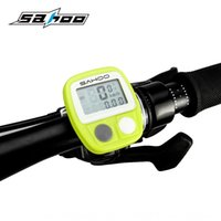 Wholesale wired shark for sale - Group buy New SAHOO shark Tiger function wired code bicycle meter bicycle speedometer mileage speedometer