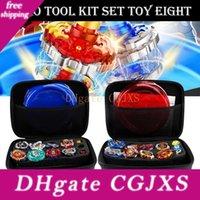 Wholesale Gyro Kit Toy Battle Tops Case Toy Stadium Gyro Burst Launcher Battle Set With Launcher Spinning Top Bey Toys Beyblade Burst