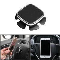 Wholesale steering wheel phone holder for sale - Group buy Cgjxs Universal Auto Car Steering Wheel Mobile Phone Holder Stand Intelligent Strong Magnetic Absorption Gps Navigation Holder Car Accessori
