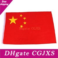 Wholesale china flags for sale - Group buy China Flags Chinese National Flag Banner Flying Flags For Festival History Celebraion Home Decoration cm