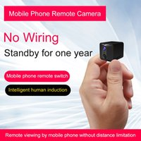 Discount phone standby time Wifi long time standby Mini camera HD 720P PIR night vision Human body camera motion detection alarm support phone remote monitoring