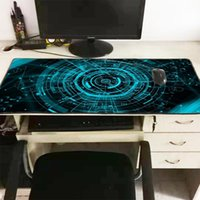 edge lighting groihandel-XGZ Green Light Extra Large Mouse Pad Gaming Wasserdicht Mousepad Gamer Anti-Rutsch-Naturkautschuk-Gaming Mauspad mit Lock-Rand