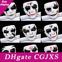 Wholesale full face disguise mask for sale - Group buy Ghost Dance Mask Thriller Disguise Impersonation Facepiece Halloween Party Mask Adult Full Face Grimace Mask Street Ghost Dance Masks