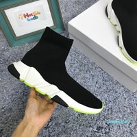 Wholesale lime green sock shoes for sale - Group buy Lime Green Sock Shoes Casual Shoe Speed Trainer High Quality Sneakers Speed Trainer Sock Race Lime Green Shoes men and women Luxury Shoe Z07