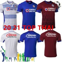Wholesale thai red shirts resale online - Thai top MX Club Cruz Azul Soccer Jerseys kits Futbol Club AGUILAR CARAGLIO MONTOYA MENDEZ CAUTE men boys football Shirts