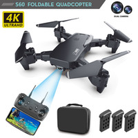 Wholesale aerial photography resale online - 5G smart positioning GPS drone K aerial photography folding drone HD dual camera long endurance quadcopter toy remote control aircraft