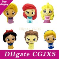 Wholesale doll silicone child for sale - Group buy Squishy Toy Princess Model Slow Rising Jumbo Stress Relieve Dolls Multicolor Children Squeeze Toys Kids Novelty Items Cca11735