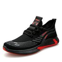 Wholesale black tenis shoes for sale - Group buy 2020 New Black Tenis Shoes Men Sneakers Fashion Men Casual Shoes Breathable Men Shoes Walking Sneakers
