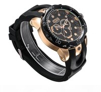 Wholesale swiss army watch men for sale - Group buy Top Sell Swiss Quartz Watch designer Wristwatch Stainless Steel Rose Gold Men Sport Military DZ Army Calendar Watches Silicone Strap