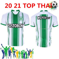 Wholesale colombia soccer jerseys for sale - Group buy 2021 Atletico Nacional Medellin H BARCOS Soccer Jersey Colombia Medellin J BARRERA Football Uniform Man kids kit Football Shirt