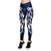 Wholesale wing pants for sale - Group buy sports wings digital printing leggings women s high waist pants Tight LGS31 sports yoga Hot selling pants yv4g