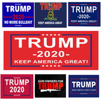 Wholesale best wishes resale online - factory price x5 flag trump flag print america election trump banner best wishes GWF2012