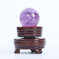 Wholesale amethyst crystals for sale resale online - Healing Decorations For Sale Amethyst Ball amethyst g Sphere Natural Ball Gemstone Home Hjt Crystal Small loveshop01 chIPW