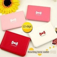 Wholesale cute gift card holders for sale - Group buy Children s cute bow bagsmall gift Butterfly clip clip card position dog bone card holder bag