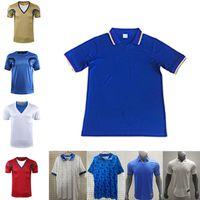 Wholesale soccer uniforms italy for sale - Group buy 98 Retro version Italy Soccer Jersey Home MALDINI BARESI Roberto Baggio ZOLA CONTE Soccer Shirt Away national team football uniforms