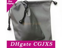 Wholesale anti static paper resale online - Cell Phone Drawstring Bags Anti Static Easy To Carry Storage Pouch Waterproof Square Bundle Pocket Fashion