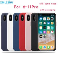 Wholesale packaging for wine resale online - Cgjxs Silicone Phone Case For Iphone s Plus Xr X Xs Max Luxury Cases For Iphone Pro Max With Logo And Packaging
