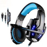 Wholesale console games pc for sale - Group buy G9000 KOTION EACH Game Gaming Headset PS4 Games Console Earphone Headphone With Microphone Mic For PC Laptop playstation PS4 Gamer Retail