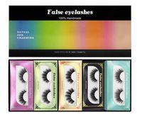 Wholesale fake lower lashes resale online - 2020 fashion item Top seller D Nano Mink False Eyelashes Fake Eyelashes Long Full Eyelashes good item by dhl