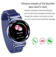 Wholesale watch ladies ratings for sale - Group buy H2 New Luxury Heart Rate Monitor Smart Fitness Bracelet Women Blood Pressure Heart Rate Monitoring Wristband Lady Watch Gift For Friend Box