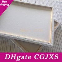 Wholesale r paintings for sale - Group buy Multi Specification Frame Pure Cotton Canvas Oil Picture Frames Practice Drawing Customized High Quality Graffiti Art Paint Popular wx6 H R