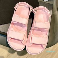 Wholesale comfort sandal women resale online - Hot sale women TPU Velcro Sandals Women s Sandals Designer Shoes Beach Classic Comfort Star Favorites Size With Box