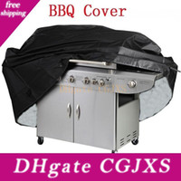 Wholesale grill apron for sale - Group buy Bbq Cover Waterproof Protecter Grill Barbeque Garden Patio Party Anti Dust Barbecue Bag For Multi Use