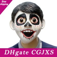 Wholesale latex movie for sale - Group buy Hot Newest Funny Movie Anime Coco Miguel Cosplay Full Head Latex Mask Fancy Ball Helmet Costume Props Masks