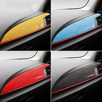 Wholesale center consoles for sale - Group buy ALCANTARA Wrap ABS Cover Car Center Console Instrument Panel M Performance Decals Sticker for BMW F20 F21 F22 F23 Series