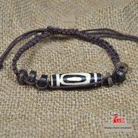 Wholesale carved bone jewelry resale online - Cow bone Tianzhu hand Jewelry bracelet woven bracelet men s and women s unique bone carving jewelry