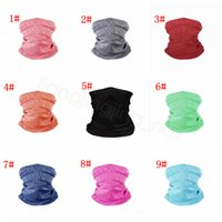 Wholesale outdoor magic head scarf for sale - Group buy Face Masks Bandanas solid LGBT printed PM Filter Mask Outdoor Head Scarves Neck Wrap Gaiter Cycling Face Seamless Magic Scarf FFA4349