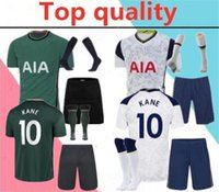 Wholesale spurs soccer jersey resale online - 2020 spurs Adult soccer jersey full kits NDOMBELE KANE DELE SON LUCAS ERIKSEN men football shirt kit with socks
