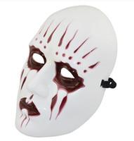 Wholesale slipknot masks resale online - Halloween mask mask slipknot horror film props show Slipknot Joey Mask