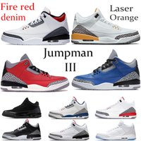 enten basketball schuhe groihandel-2020 feuerrot Denim Jumpman OG Basketballschuhe Laser Orange kühlem Grau Varsity Königs UNC Turnschuhe laufen Katrina Oregon Ducks PE Männer Schuhe