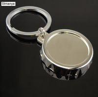 Wholesale best bottle opener ring resale online - New Opener Chian Fashion Metal Bottle Cap Car Key Ring for Men Women Best Gift Jewelry K1989