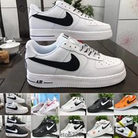 männer s luftwaffe groihandel-Nike Air Force 1 One Af1 2020 Dunk Flyline Frauen Sport Skate Runing Schuhe 1 One Men Outdoor-Turnschuhe High Low Low Schwarz Weiß Größen 36-45 WEDF9