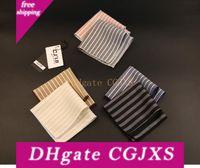 Wholesale mens handkerchiefs cotton for sale - Group buy 19 Color New Fashion Designer High Quality Mens Pocket Square Handkerchief Cotton Striped x22cm For Wedding