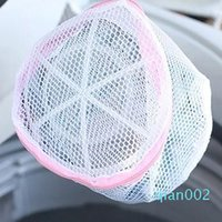 Wholesale mesh wash bags resale online - 1pc Washing Machine Clothes Underwear Zipper Closure Laundry Mesh Net Pouch Bag Washing Supplies For Family wh0477