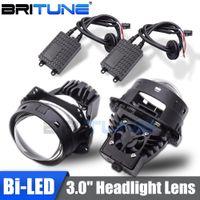 Wholesale projector headlight kits for sale - Group buy Bi led Lens Projector Headlight Lenses Bulbs Lamp For Auto Car Lights Accessories Retrofit Universal Automobiles Kit DIY