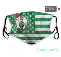 Wholesale New layer dust mask basketball team Pistons Clippers Celtics Thunder Hawks Nets Jazz fashion repeatable face mask