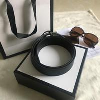Gift box + handbag Designer Belts for Men women Luxur Big Gold Buckle belt Leather Business Woman high quality