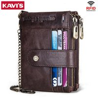 Wholesale wallet men functional resale online - 2020 New Vintage Rfid Men Wallet Short Genuine Leather Casual Bag Hasp Male Purse Coin Pouch Multi functional Card Holder Walet