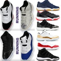 Wholesale jam black resale online - With Box Cheap New Bred s Concord Space Jam Snakeskin Mens Basketball Shoes WMNS Gamma Blue Men Sports women Sneakers Trainer