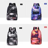 Wholesale knapsack bag for girls resale online - Designer Black Oxford Fortnite Starry Sky Fortress Night Backpack For Teenage Girls Bag Sac A Dos Femme Female Knapsack School Bags Fashi