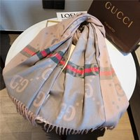 Wholesale printed pashmina shawl tassels for sale - Group buy 5 colors New quality Cashmere blended tassel size cm Designer Shawl luxury scarves lGg Scarf l