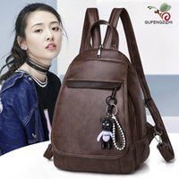 Wholesale ladies summer backpack for sale - Group buy Fashion Summer Women Backpack Chest Bag Leather High Quality Shoulder Bag Women Backpacks Large Capacity School For Lady